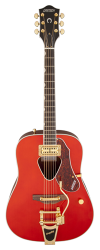 VIOL�O RANCHER C/ BIGSBY GRETSCH G5034TFT ACOUSTIC COLLECTION - 270-4034-522 - SAVANNAH SUNSET