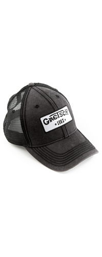 BON� GRETSCH TRUCKER HAT LOGO 1883 922-3101-000 BLACK