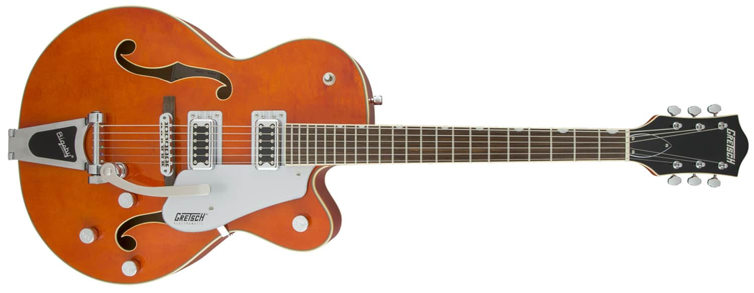 GUITARRA GRETSCH G5420T ELECTROMATIC HOLLOW BODY CUTAWAY W/BIGSBY - 250-6011-512 - ORANGE