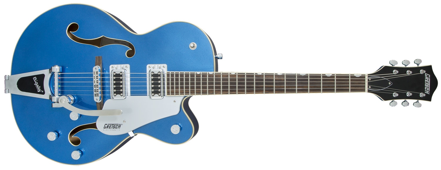 GUITARRA GRETSCH G5420T ELECTROMATIC HOLLOW BODY CUTAWAY W/BIGSBY - 250-6011-570 - FAIRLANE BLUE