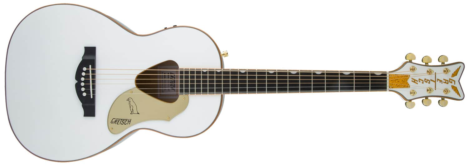 VIOL�O RANCHER PENGUIN PARLOR GRETSCH G5021WPE ACOUSTIC COLLECTION - 271-4014-505 - WHITE
