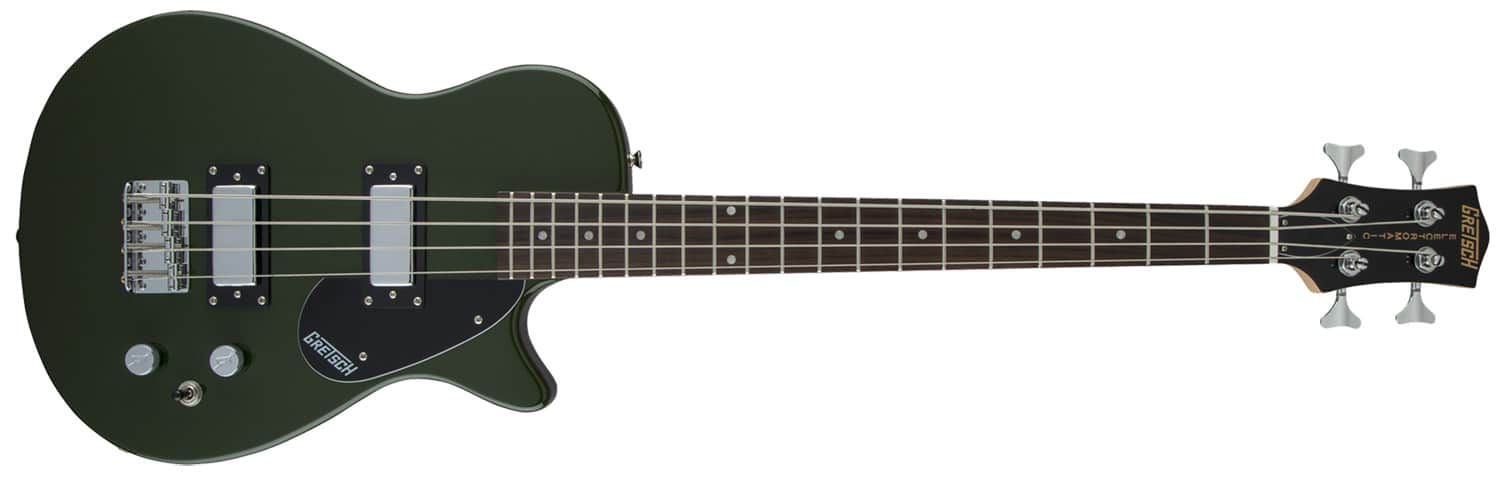 CONTRABAIXO GRETSCH G2220 ELECTROMATIC JUNIOR JET BASS II SHORT-SCALE - 251-4730-580 - TORINO GREEN