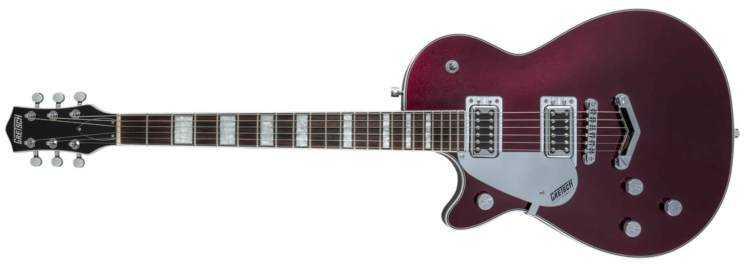 GUITARRA GRETSCH G5220LH ELECTROMATIC JET BT SINGLE CUT V-STOPTAIL - 251-7120-539 - CHERRY METALLIC