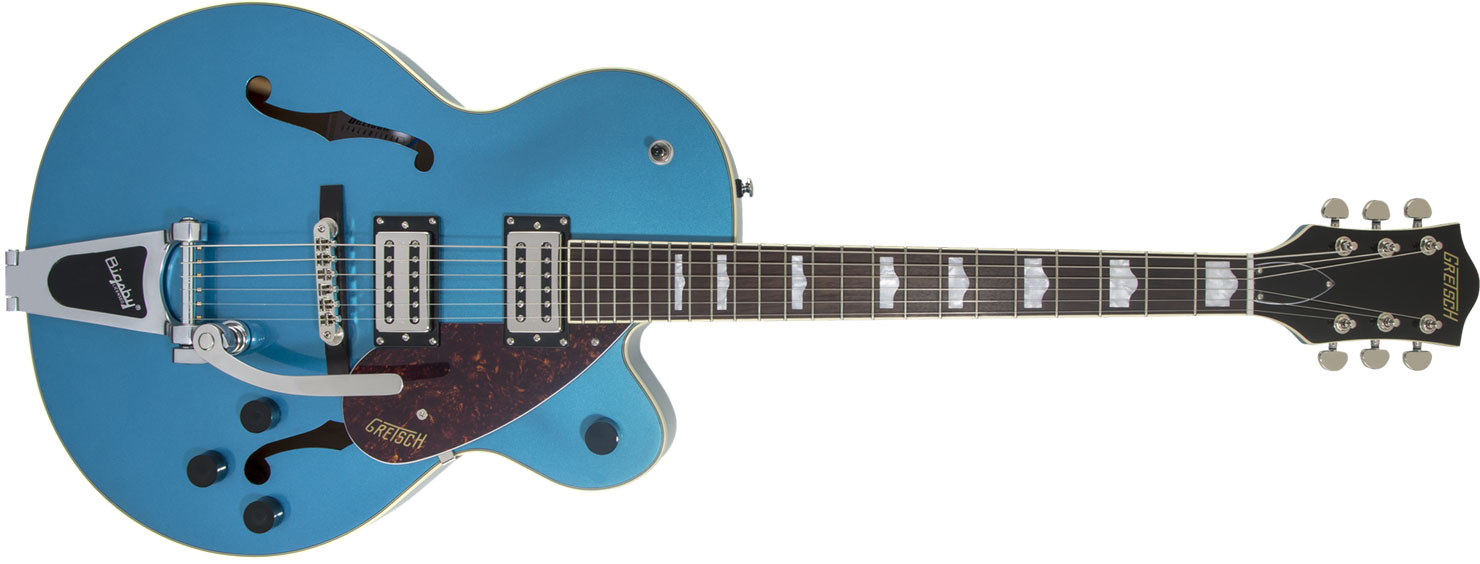 GUITARRA GRETSCH G2420T STREAMLINER HOLLOW BODY SINGLE CUTAWAY - 280-4600-502 - RIVIERA BLUE