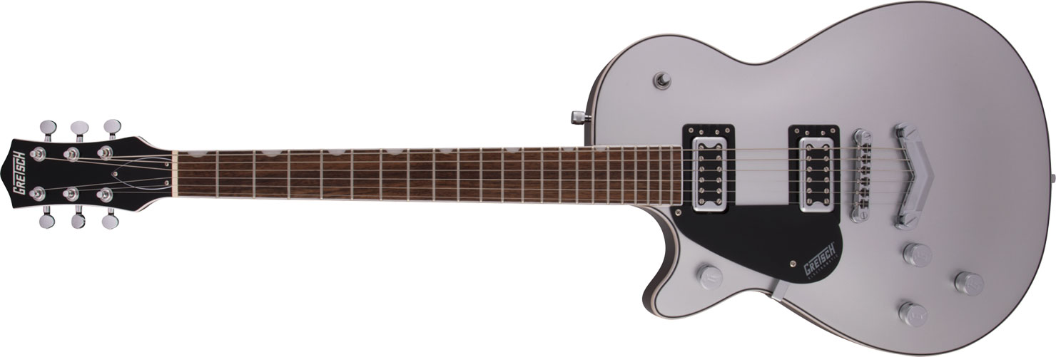 GUITARRA GRETSCH G5230LH ELECTROMATIC JET FT SINGLE CUT V-STOPTAIL - 251-7220-547 - AIRLINE SILVER